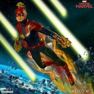 Capitana Marvel Figura 1/12 ONE 12 Mezco