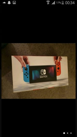 Nintendo switch brand new with 2 games