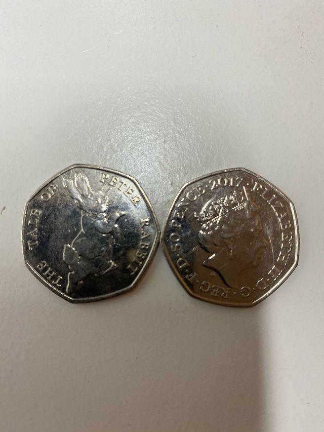 15x RARE 50P COINS