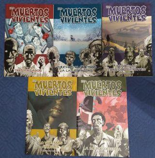 Cinco primeros cómics de The Walking Dead