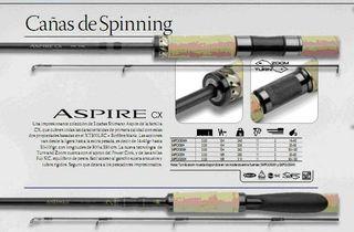 Caña Spinning Shimano Aspire 3.30 pesca
