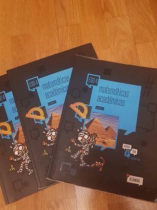 libro texto Matemáticas académicas 4 E.S.O