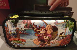 Nintendo switch + juegos + mandos + regalo funda