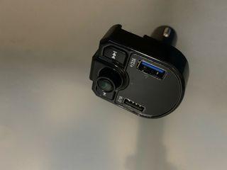 Transmisor fm, bluetooth para coche