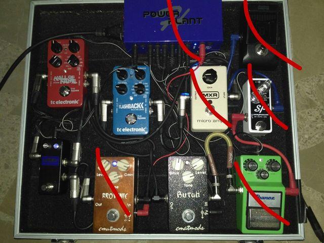 Looper Keeley Pedal Guitarra Conmutador (puente)