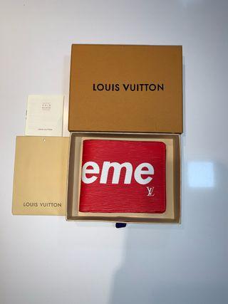 Cartera Supreme por Louis Vuitton