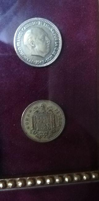 2 monedas de 1963
