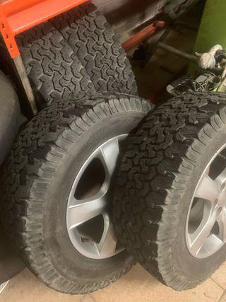 Llantas y neumáticos 4x4 subaru