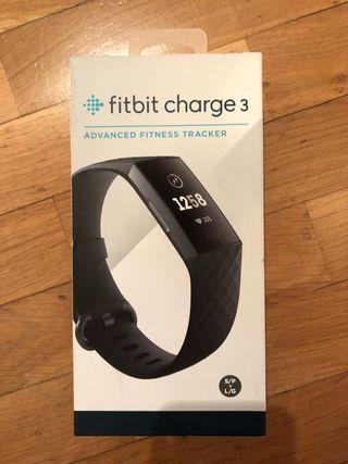 Reloj fitbit charge 3 NUEVO