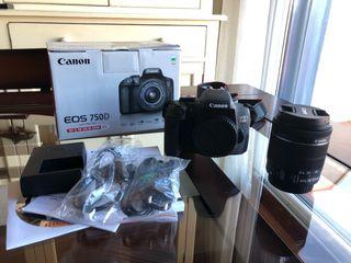 Cámara Canon EOS 750D