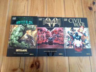 3 Tomos Sagas Marvel
