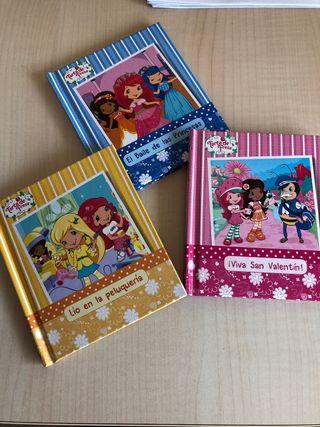 """Libros infantiles """" tarta de fresa"""""""