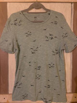 Camiseta chico pájaros