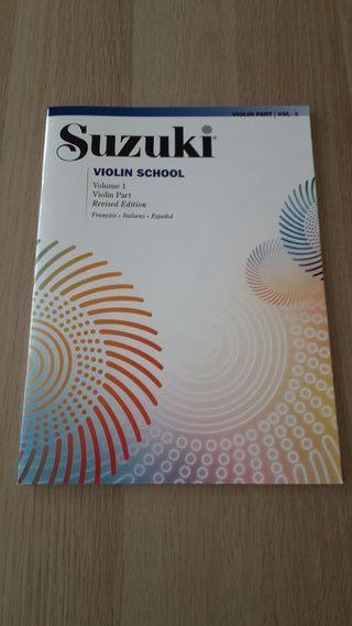 Método Suzuki Violín 1