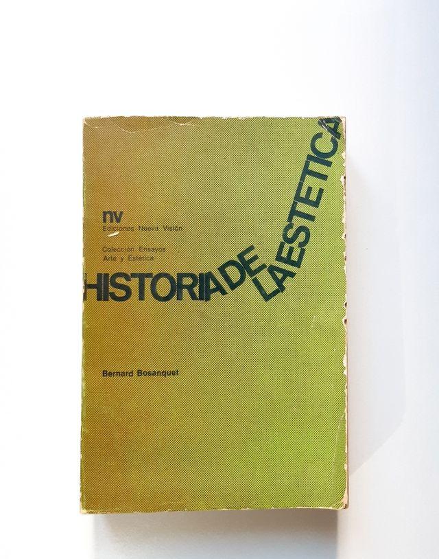 Historia de la Estética. Bernard Bosanquet
