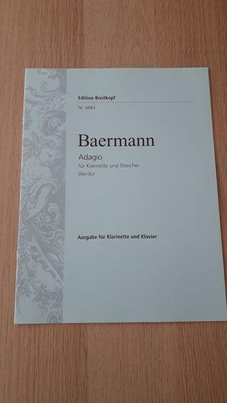 Adagio clarinete Baermann