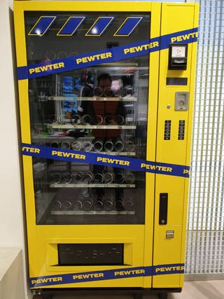 Maquina de vending .