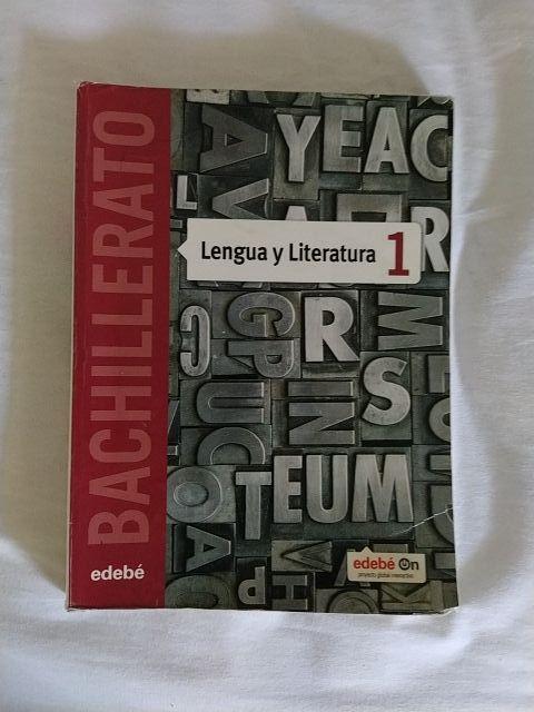 libro lengua y literatura 1o bachillerato