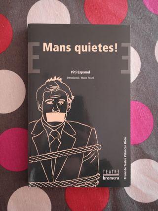 Llibre català: Mans quietes! - Piti Español. Premi