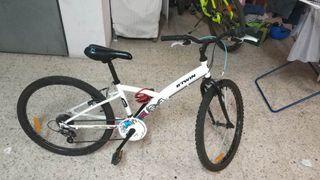 Bicicleta 24 Pulgadas Decathlon Como Nueva