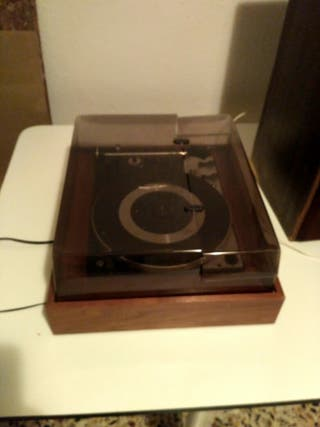 altavoces toca discos