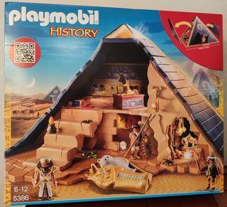 Pirámide de Playmobil NUEVA