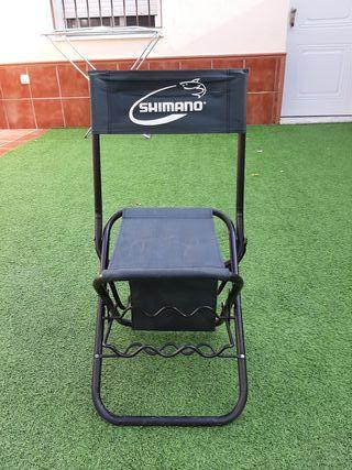 silla de pesca Shimano
