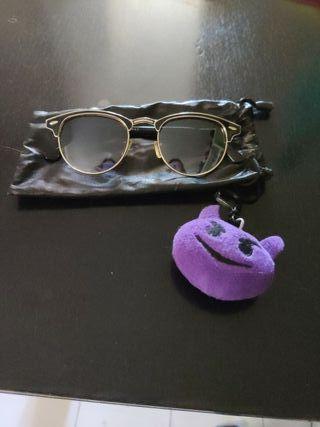 """Pack para molar - Gafas tipo """"Ray Ban"""" + peluche"""