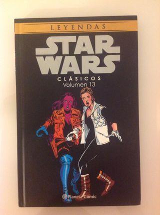 4 cómics de la serie Star Wars