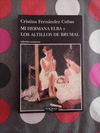 Libro: Mi hermana Elba y los altillos de brumal