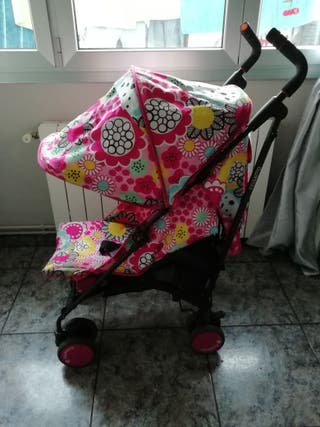 silla de paseo cosatto rosa