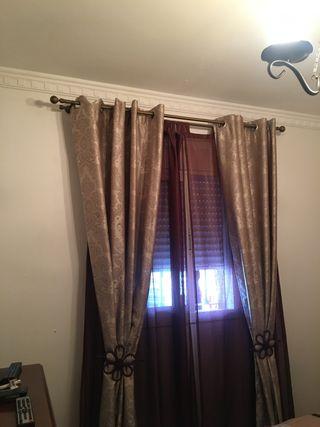 Vendo cortinas y visillos