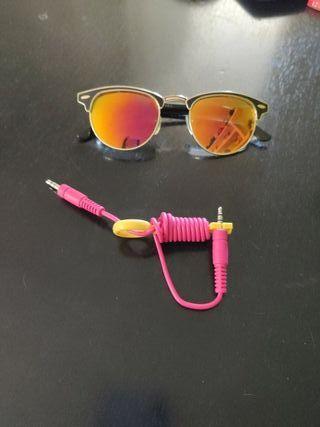 """Pack para molar - Gafas sol tipo """"Ray Ban"""" + llave"""