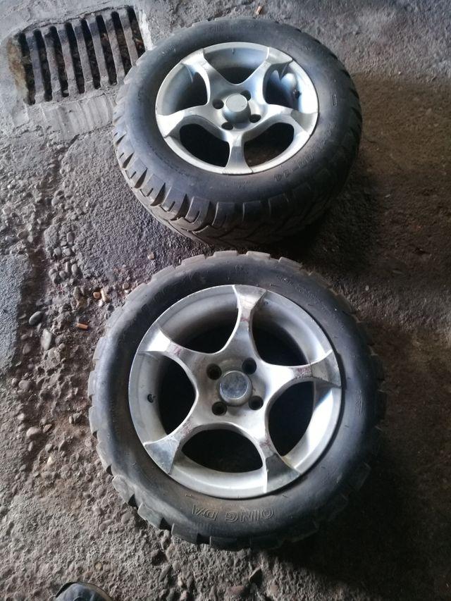 4 ruedas de aluminio quad