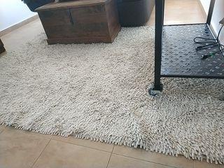 alfombra beige 155x215