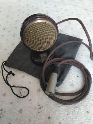 Micrófono Grundig GCM3 vintage