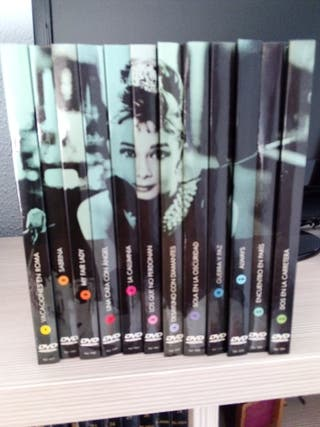 DVD colección Audrey Hepburn