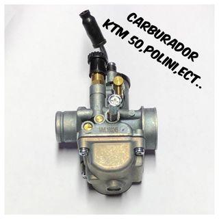 Carburador 19mm,ktm 50,polini,derbi