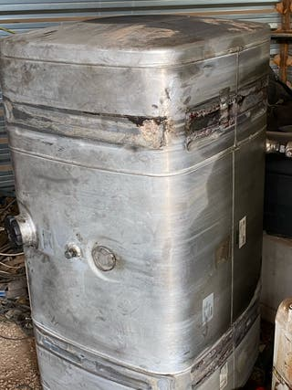 Depósito de gasoil para camión