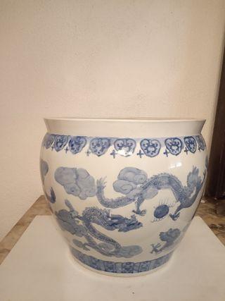 Maceta decorativa cerámica Grande