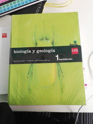 Biologia y geologia 1 BACHILLERATO