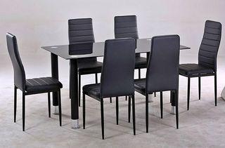 Mesa de Comedor 6 sillas Nuevas! Oferta 3 Colores!
