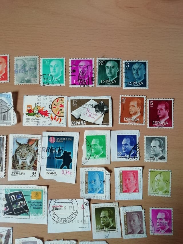 Lote sellos de España, algunos de más de 45 años