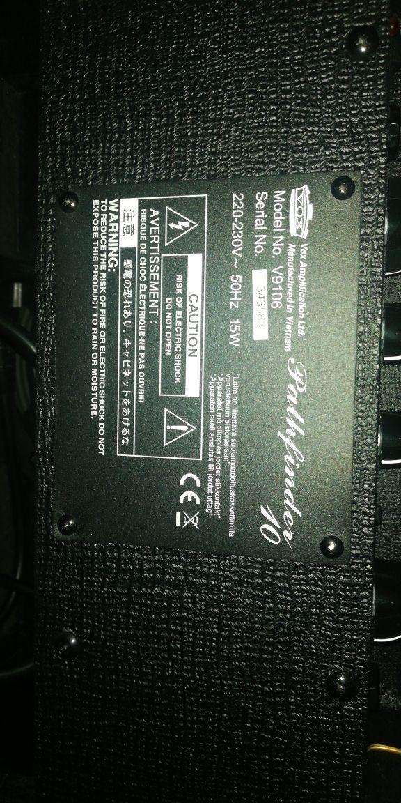 guitarra electrica Ltd m50+ampli Vox
