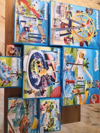¡ENVIO GRATIS! Megapack Playmobil Funpark.