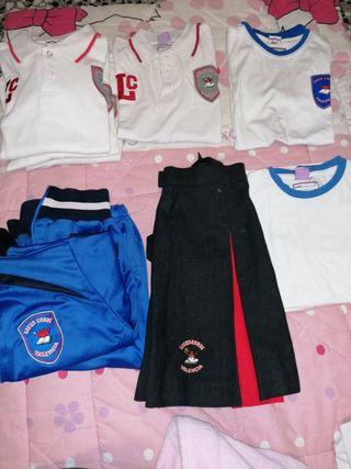 uniforme liceo Corbí talla 8
