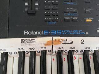 Teclado sintetizador Roland E35