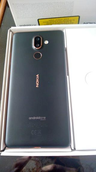 Nokia 7 plus , Aluminio , 64 GB , 4 RAM