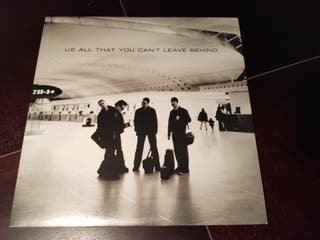 U2 - ALL THAT YOU CAN'T LEAVE BEHIND VINILO