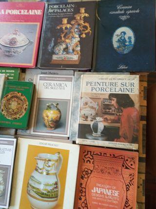 44 libros sobre cerámica